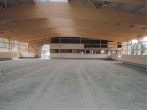 Webseite Halle mit Boden im Bau Foto GK